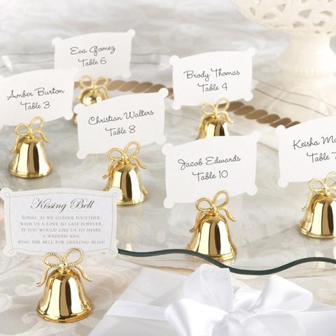 Wedding Bell Placecard Holders 934