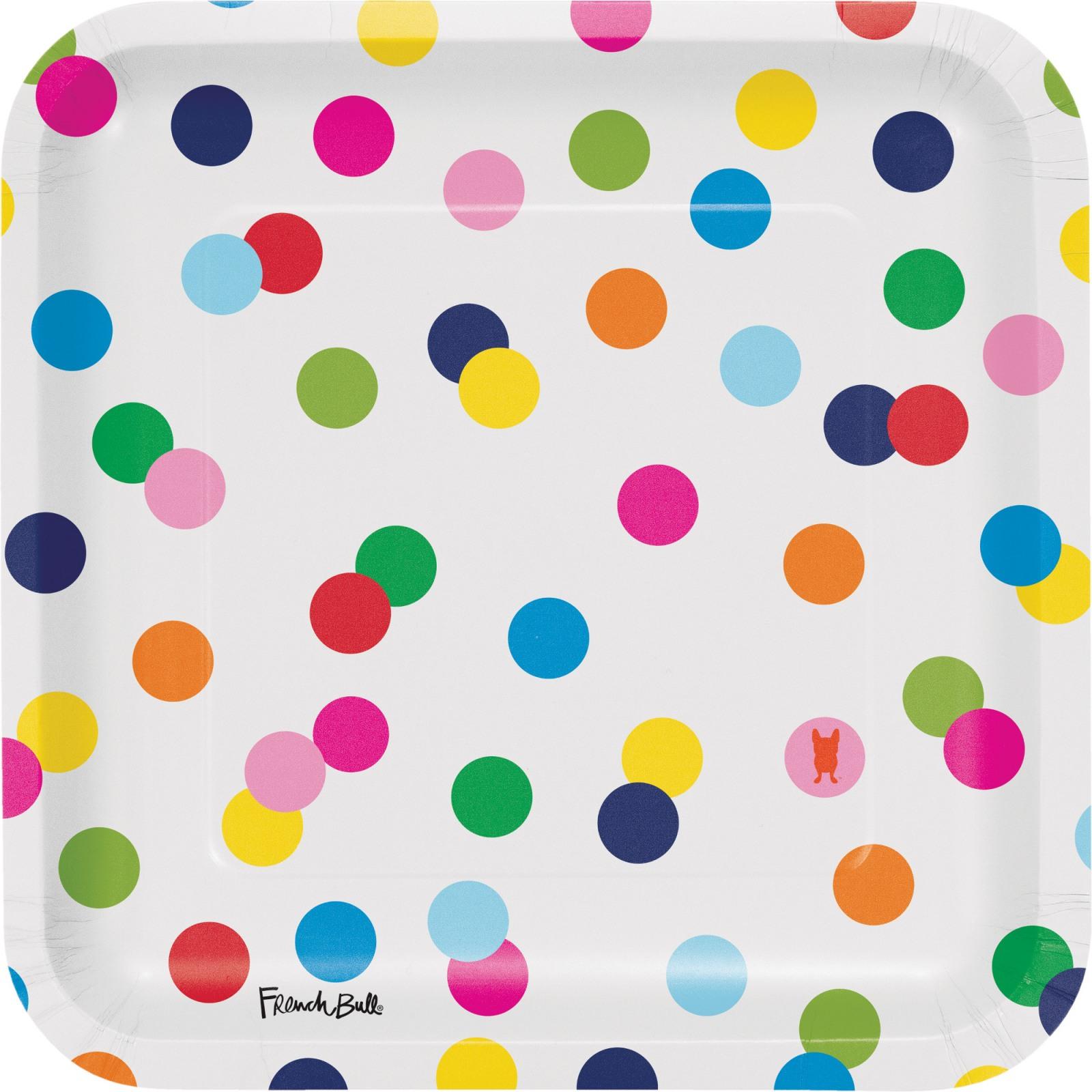 Birthday Dots Dinner Plate 9