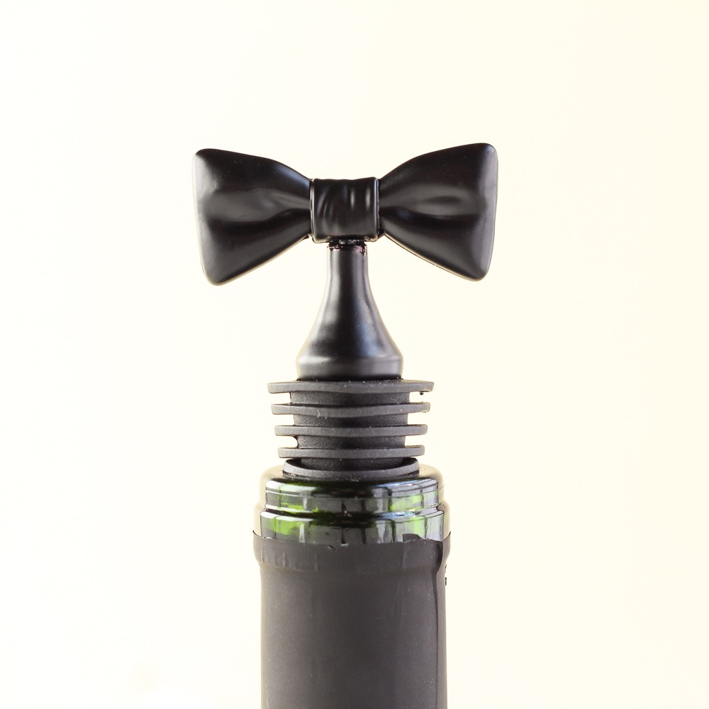 Black Bow Tie Bottle Stoppers 9389