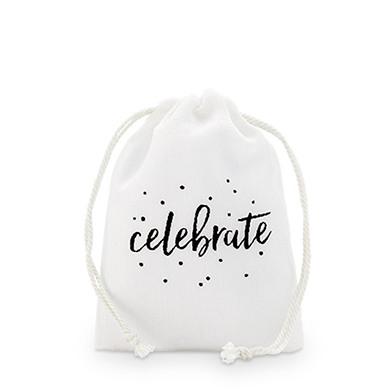 Celebrate Muslin Favor Bag 9537