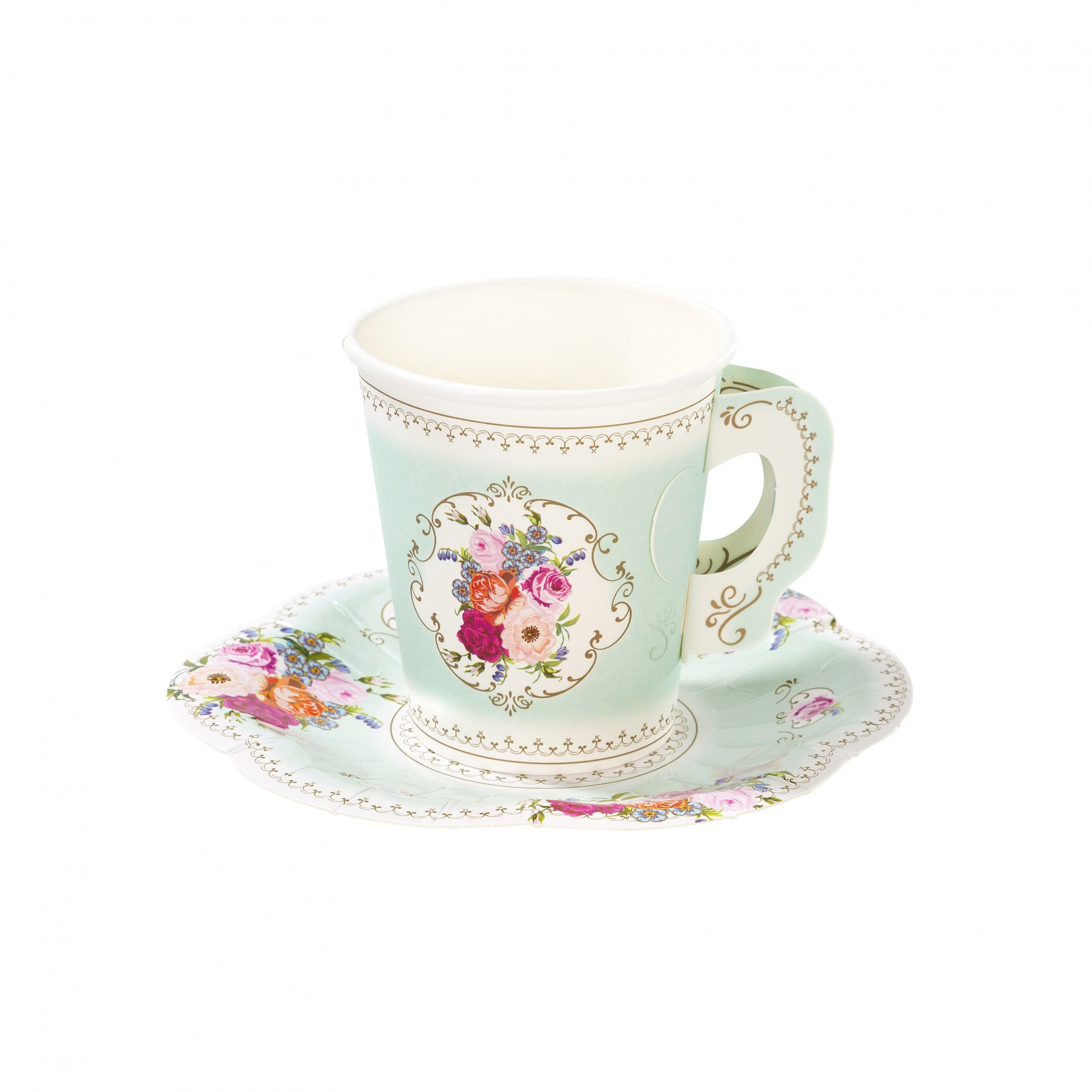 Paper Tea Cup & Saucer