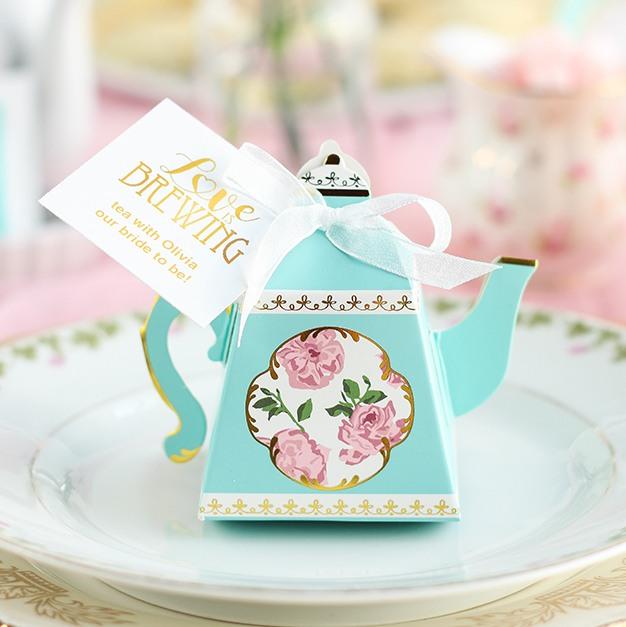 Teapot Favor Box 9593