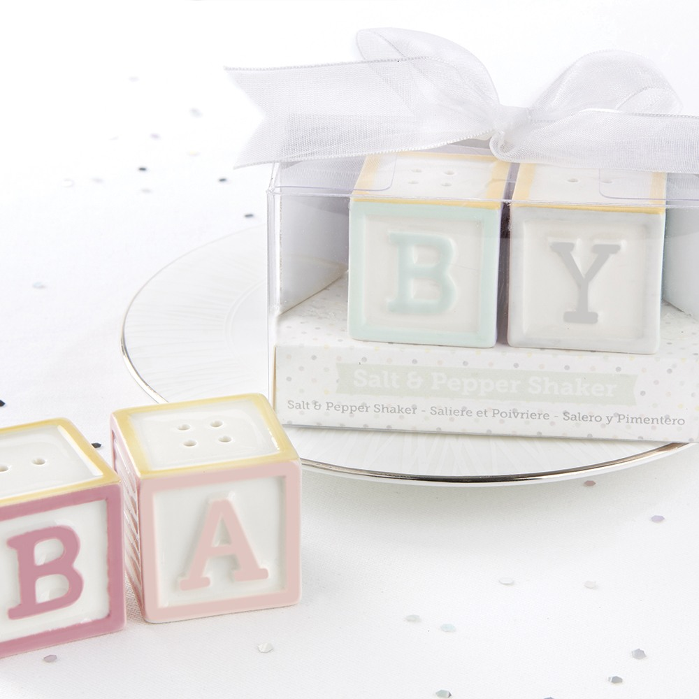Baby Blocks Salt And Pepper Shakers 9625