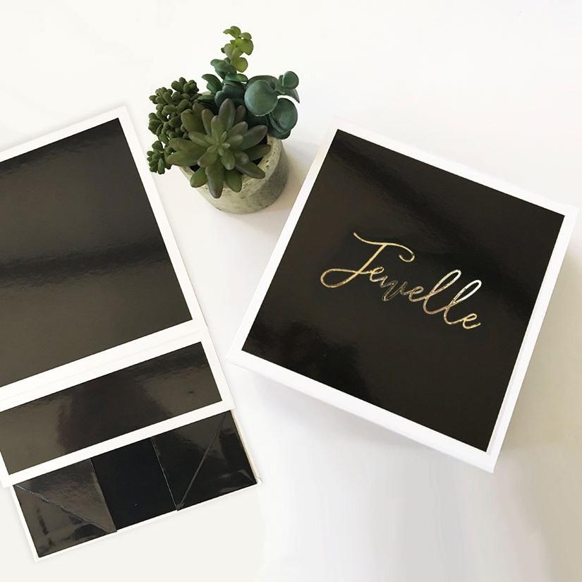 Black Personalized Gift Box