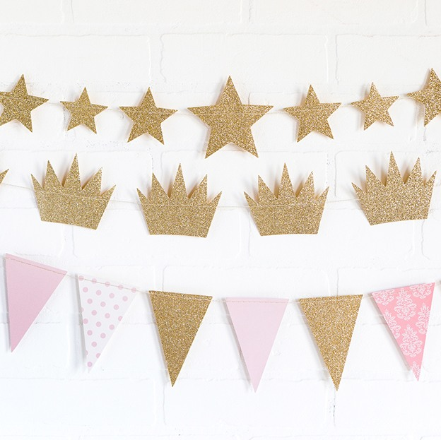 Glitter Birthday Banners 9670