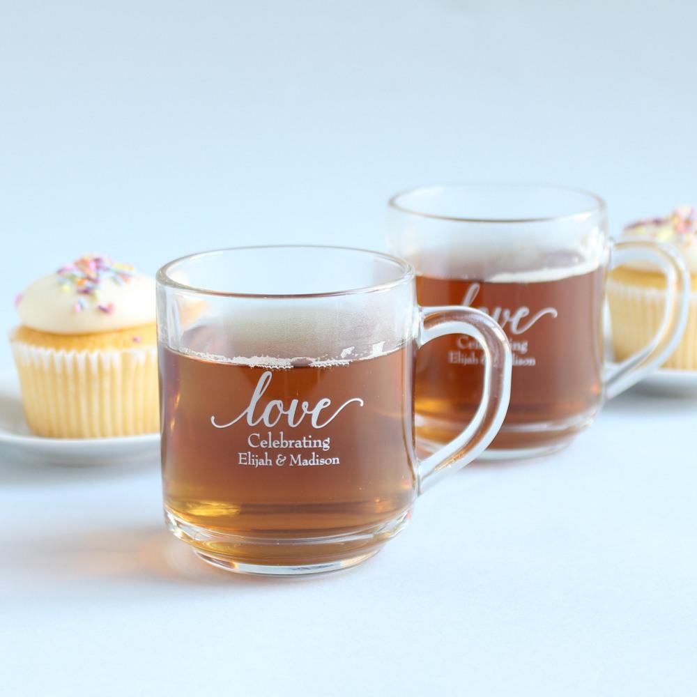 Personalized Glass Mug 9841