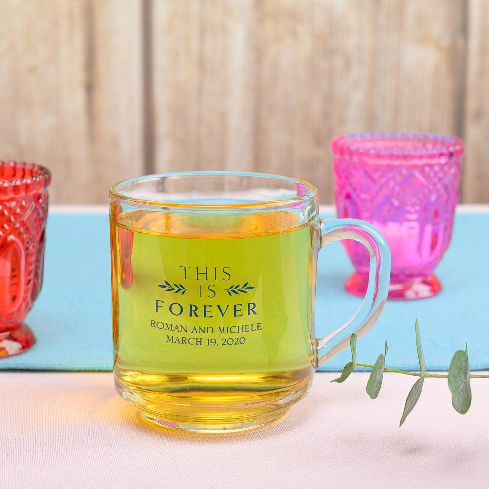 Personalized This is Forever Glass Mug