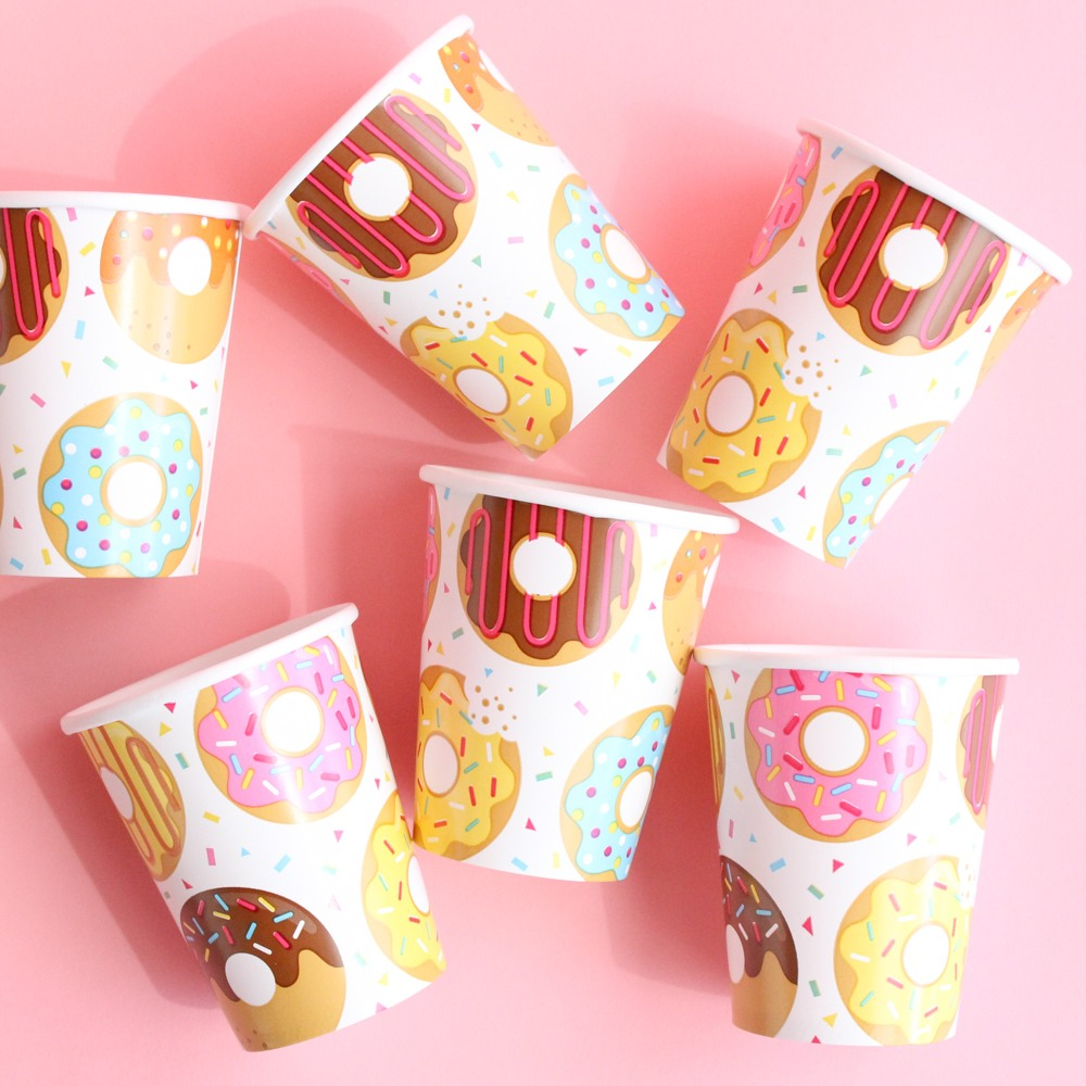 Donut Party Cups 9856