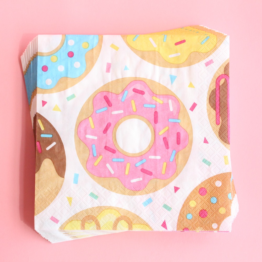 Donut Party Luncheon Napkins 9860