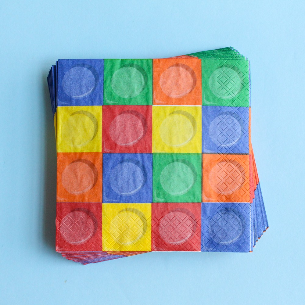 Block Party Luncheon Napkins 9867