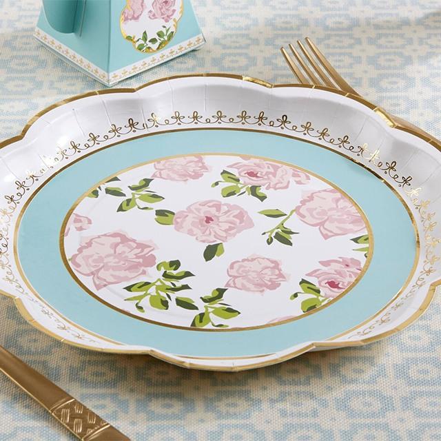 Tea Time Paper Plates 9937