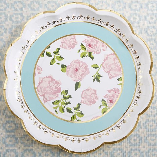 Tea Time Paper Plates