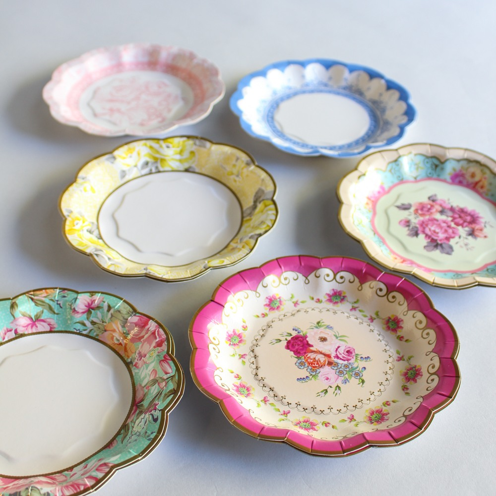 Vintage Pretty Cake Plates