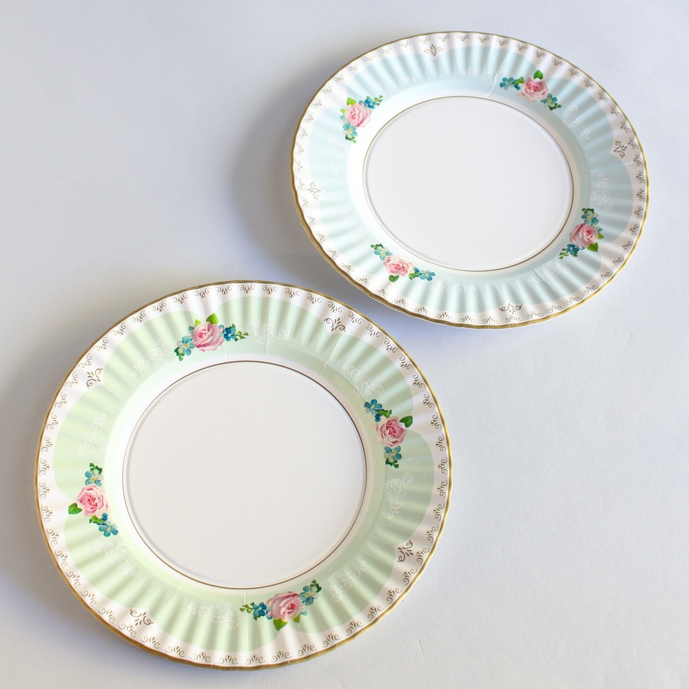 Large Pretty Plates
