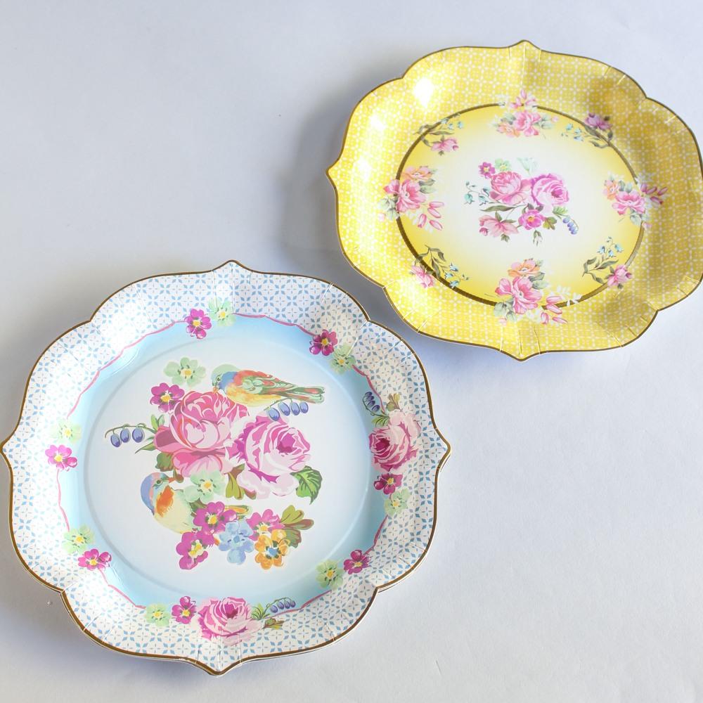 Pretty Serving Plates 9985