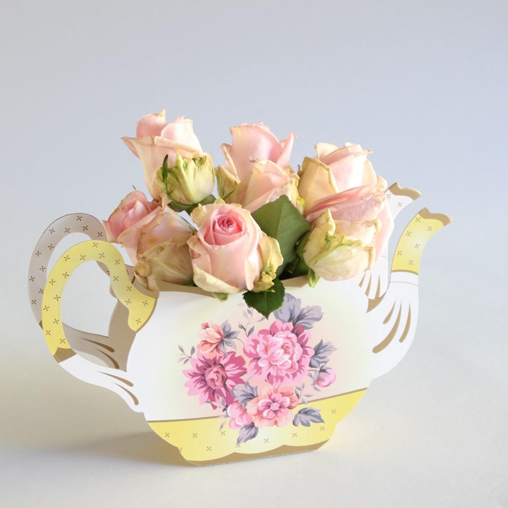 Teapot Vase 9986