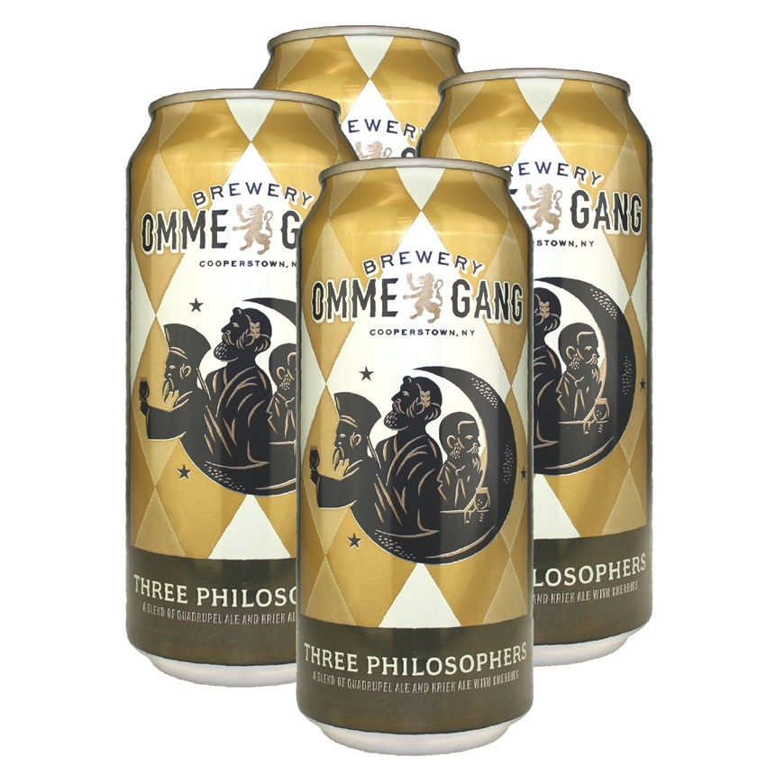 Ommegang Three Philosophers (4-can pack)