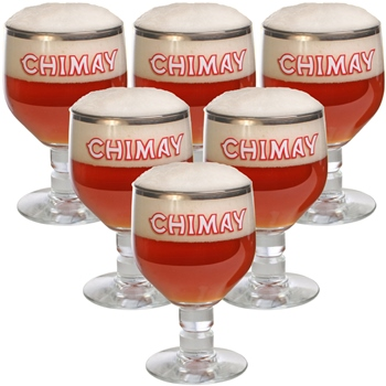 Chimay Glass 33 cl (set of 6)