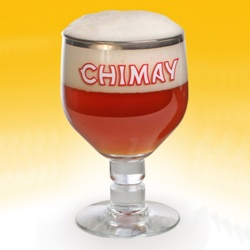 Chimay Trappist Ale Beer Glass (33 cl/11.2 oz)