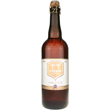 Chimay Cinq Cents Tripel (White) 25.4 oz