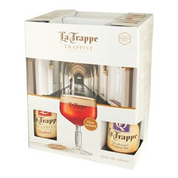 La Trappe Gift Set (4 Ales & 1 Glass)