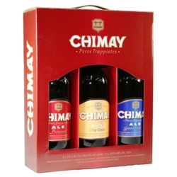 Chimay Trappist Ales Gift Set (3 large bottles)
