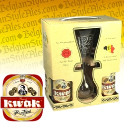 Pauwel Kwak Gift Set (4 ales & glass)
