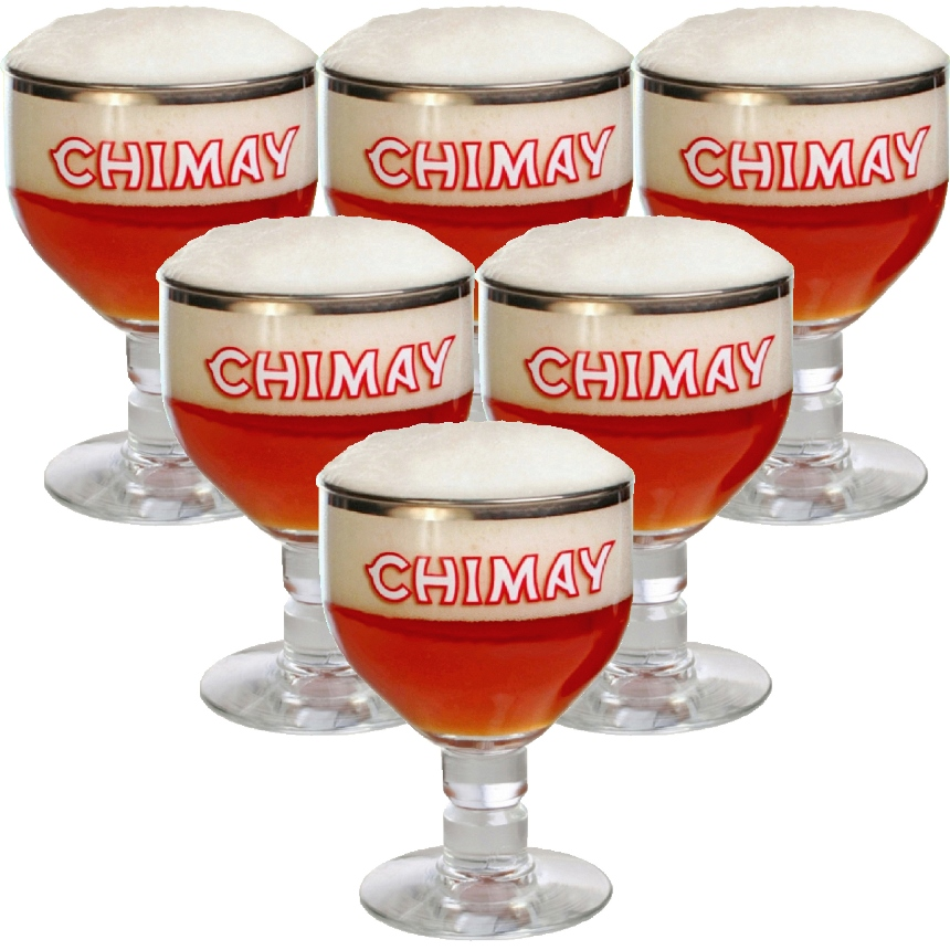 Chimay Glass 25 cl (set of 6)