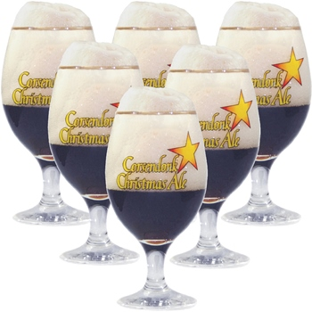 Corsendonk Christmas Ale Glass (set of 6)