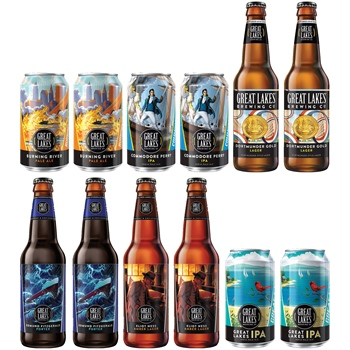 12-pack Great Lakes Sampler