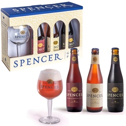 Spencer Trappist Ale Gift Set (3 ales & 1 glass)
