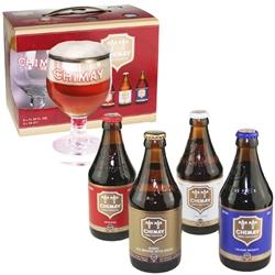 Chimay Gift Set (4 ales & 1 goblet)