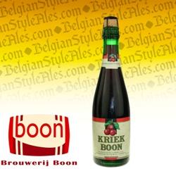 Boon Kriek (Cherry) Lambic 12.7 oz