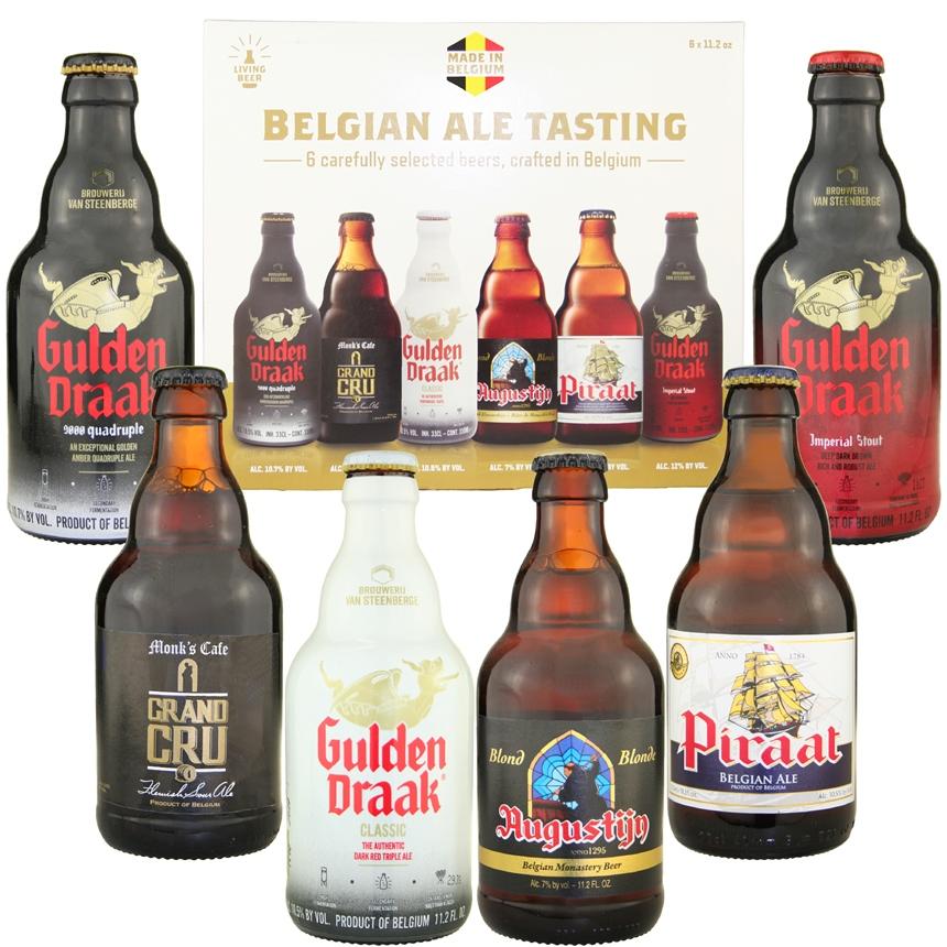 Van Steenberge Belgian Ale Tasting Sampler (6 bottles)