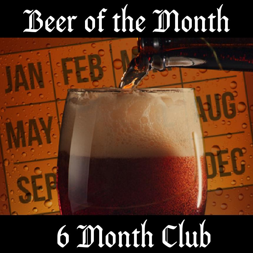 6 Month Belgian Beer Club