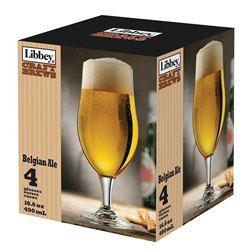 Belgian Ale Glass (set of 4)