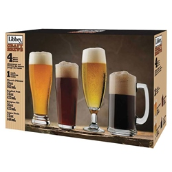 Craft Brew Glass Assortment (set of 4)