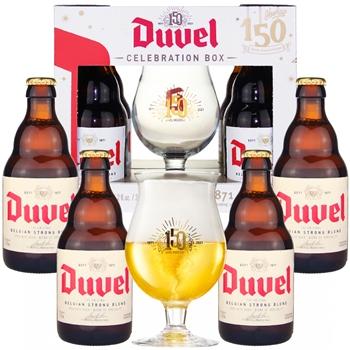 Duvel Gift Set (4 ales & 1 glass)