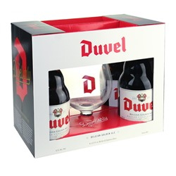 Duvel Gift Set (4 ales & 1 glass)