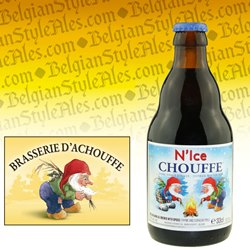 N'Ice Chouffe Donker Winter Bier 11.2 oz