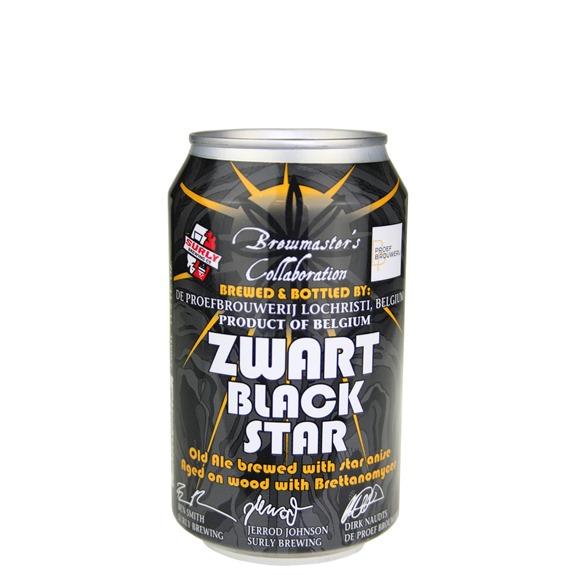 Surly & De Proef Zwart Black Star 11.2 oz can
