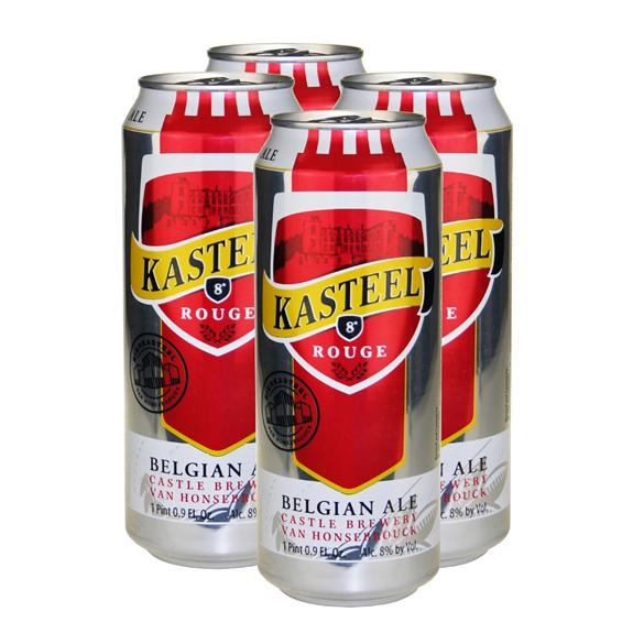 Kasteel Rouge Belgian Ale (4-can pack)