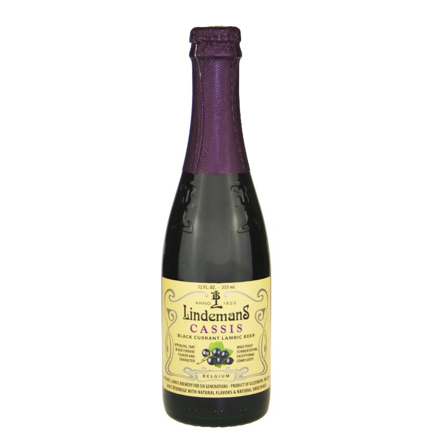 Lindemans Cassis (Blackcurrant) Lambic 12 oz