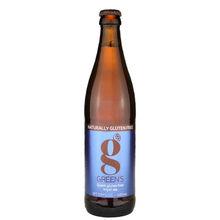 Green's Quest Gluten Free Tripel Ale 16.9 oz