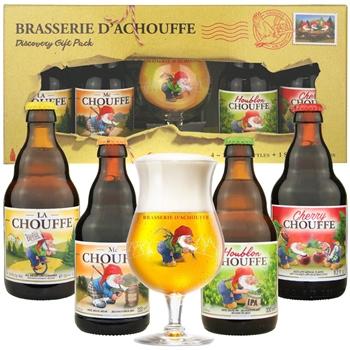 Chouffe Gift Set (4 ales & 1 glass)