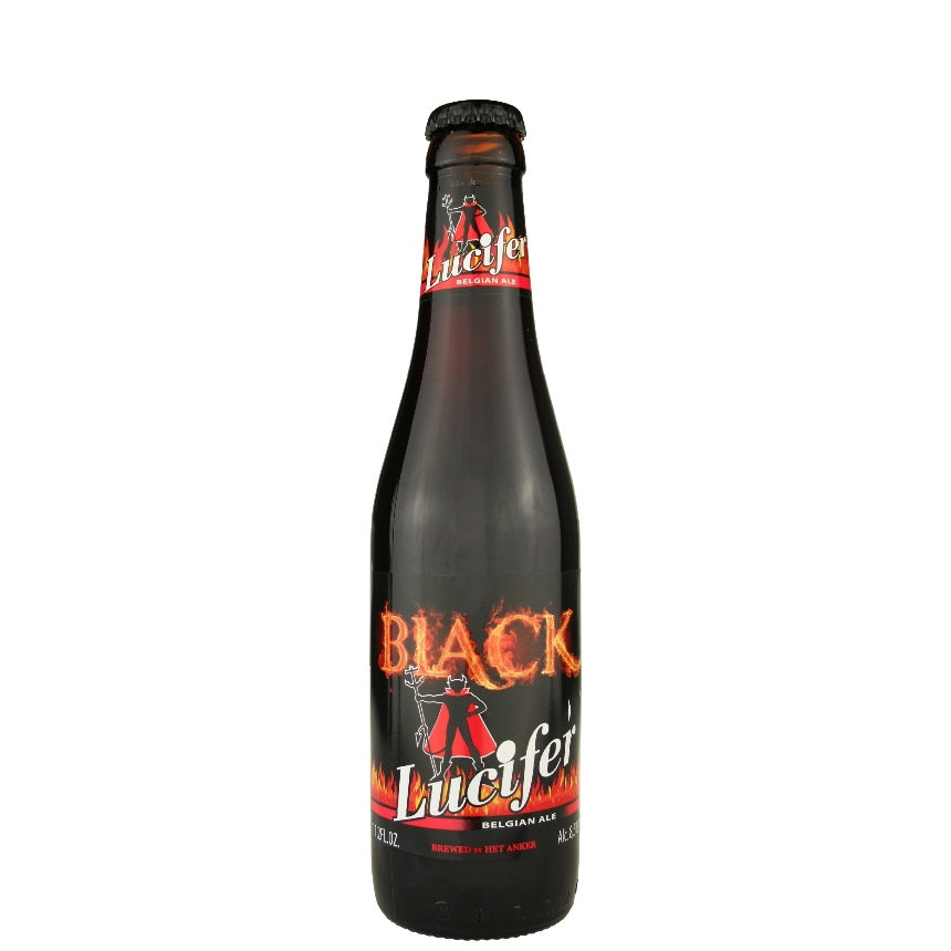 Lucifer Black Belgian Ale 11.2 oz
