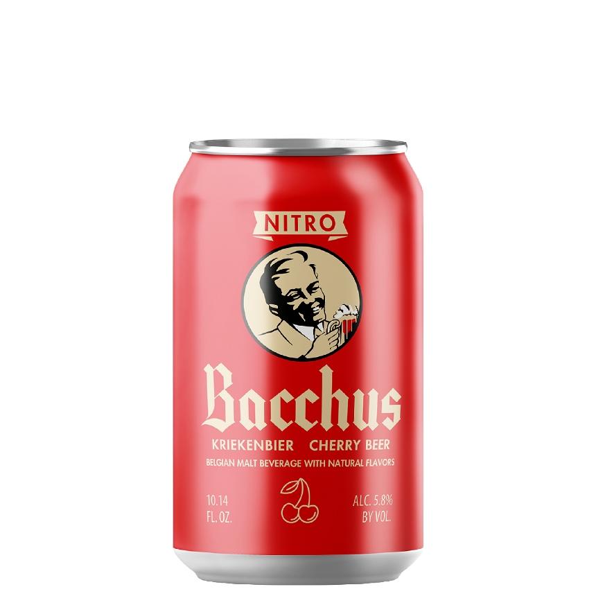 Bacchus Nitro Cherry Beer 10.14 oz can