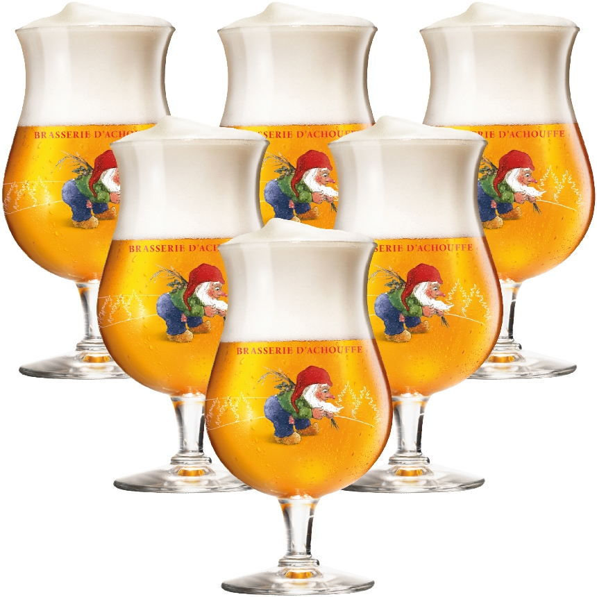 Chouffe Glass (set of 6)