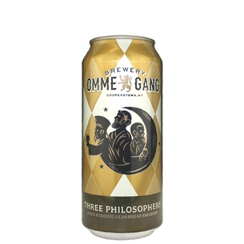 Ommegang Three Philosophers 16 oz can