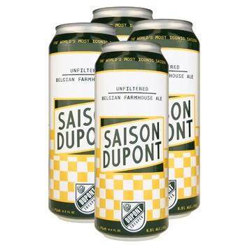 Saison Dupont Farmhouse Ale (4-can pack)